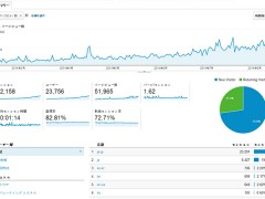 Google アナリティクス アクセス解析レポート
