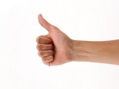 韓国語の「親指、人差し指、中指、薬指、小指」の指の名称を覚える!
