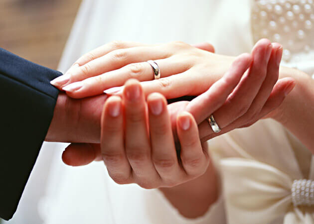 カップルリング ペアリング 恋人でも左手薬指につける