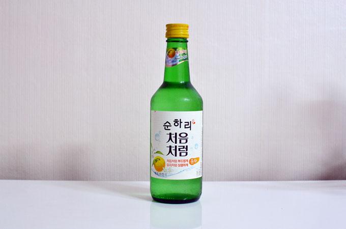 今韓国で人気のゆず焼酎