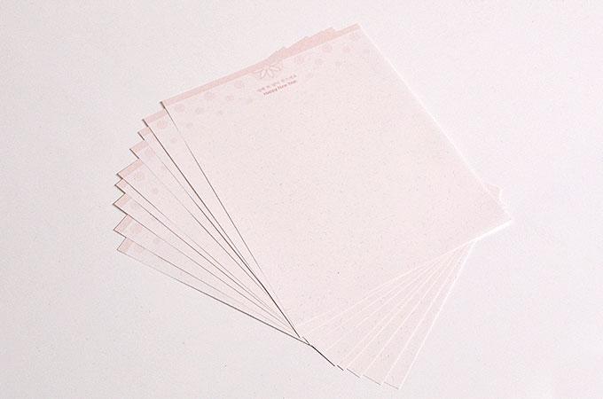 年賀カード専用の用紙