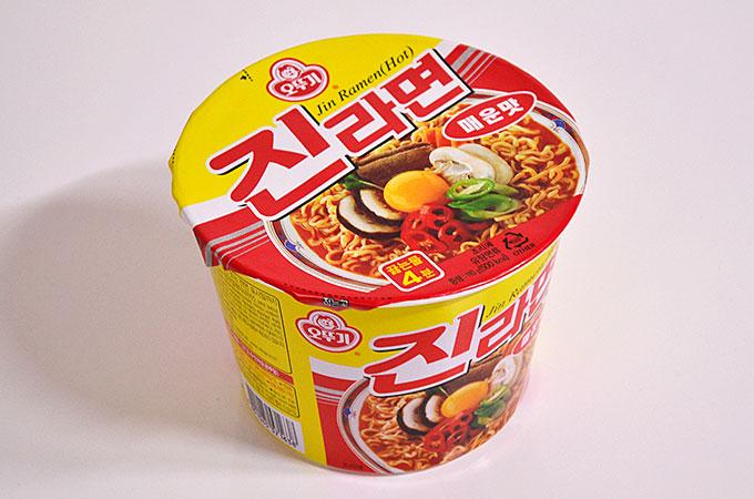 韓国でも人気のラーメン「チンラーメン」