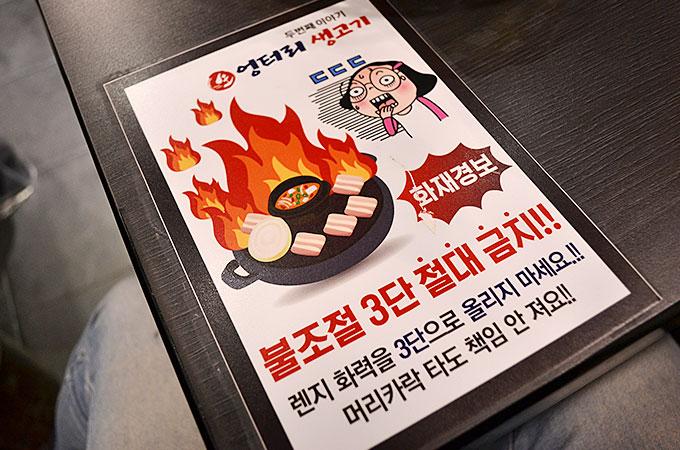 焼くときの注意で強火、中火、弱火とありましたが、強火は禁止のようです!