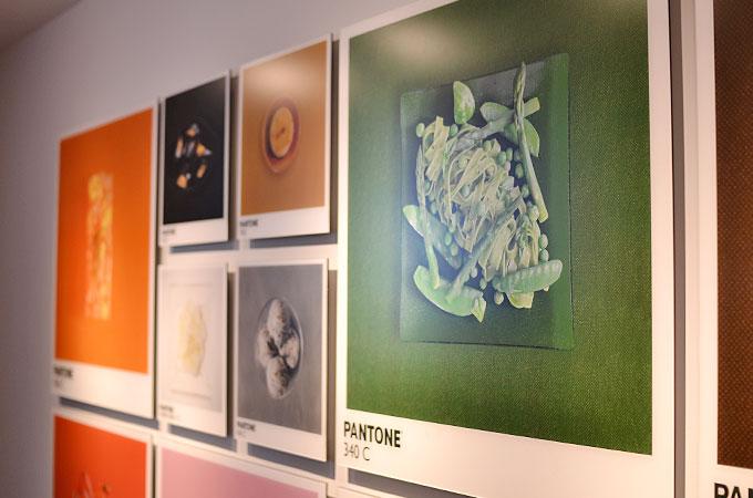 日常の中にある色をテーマにした展示もおしゃれに表現してますね。02