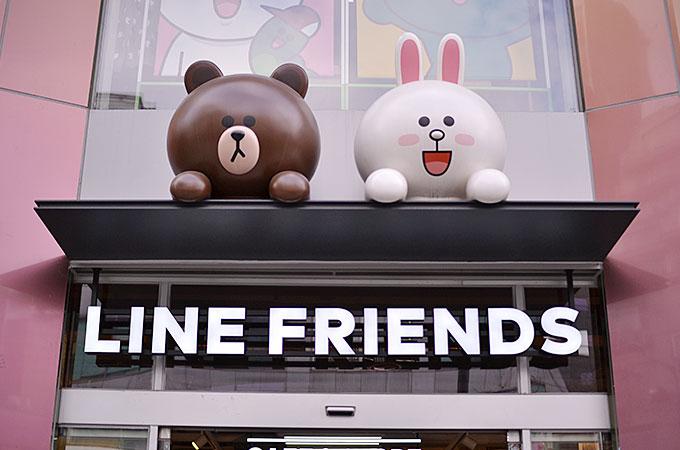 LINEは毎日使ってるのでキャラクターに愛着がある