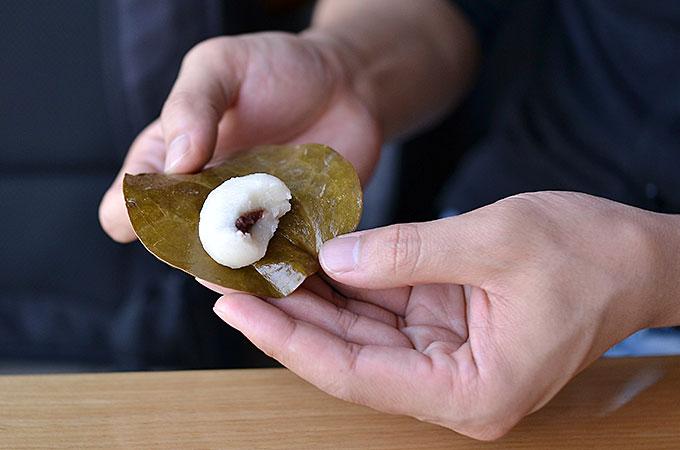 韓国の柏餅「망개떡 マンゲトク」を食べてみる
