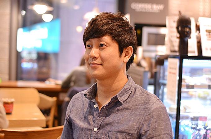 韓国で髪を切る、ヘアーカット後。
