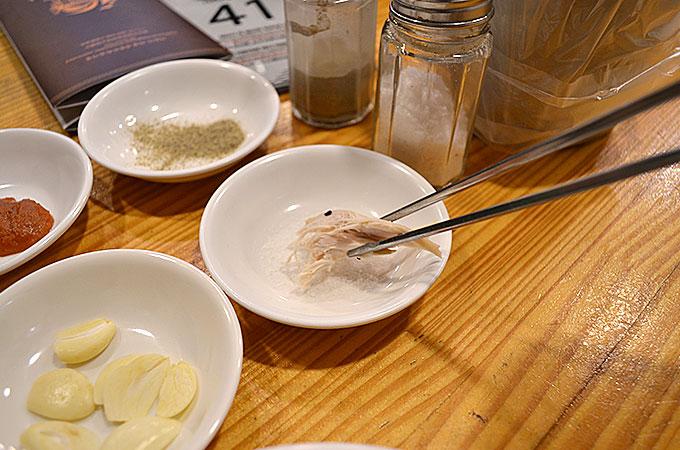 塩味は自分好みで追加したり付けたりする食べ方が韓国では多い気がしますね。