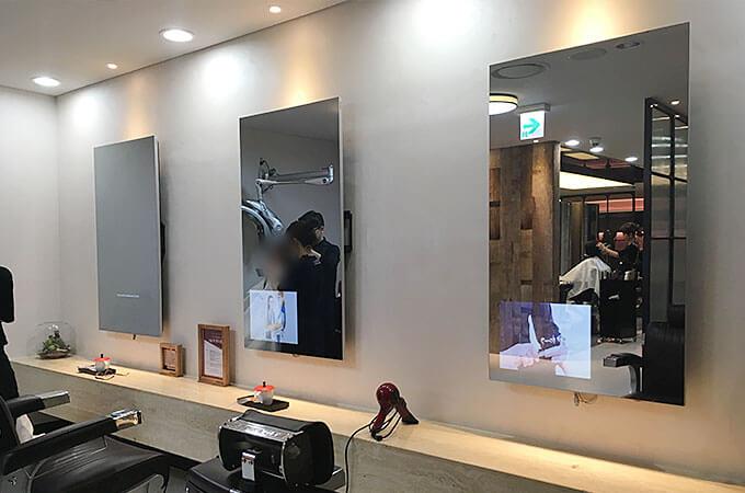 韓国の美容室「LEEKAJA HAIRBIS」ミラーディスプレイを見に行ってきた!