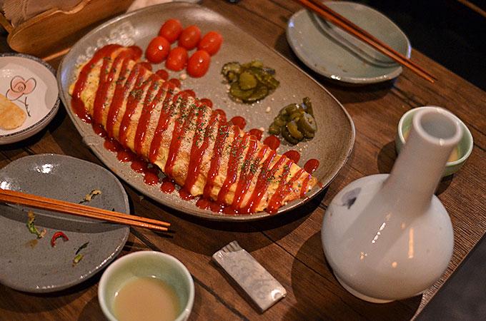 「ベーコンチーズ卵焼き 16,000ウォン」