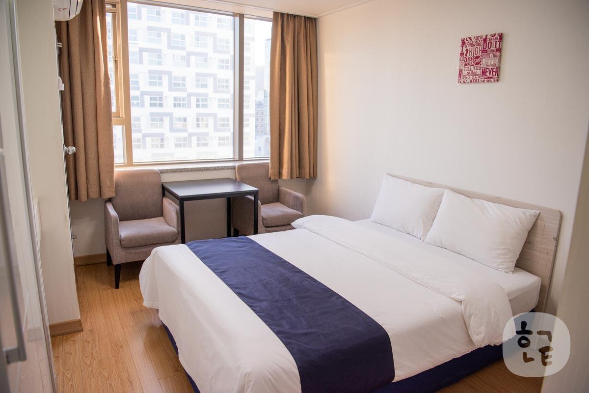 韓国ソウル・東大門にあるモーニングスカイホテルに泊まってみた!