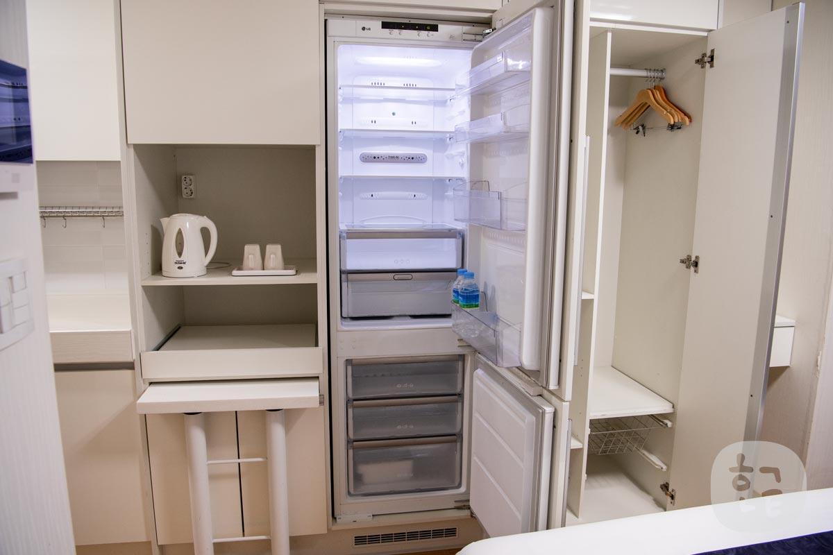 一般家庭にあるサイズの冷蔵庫