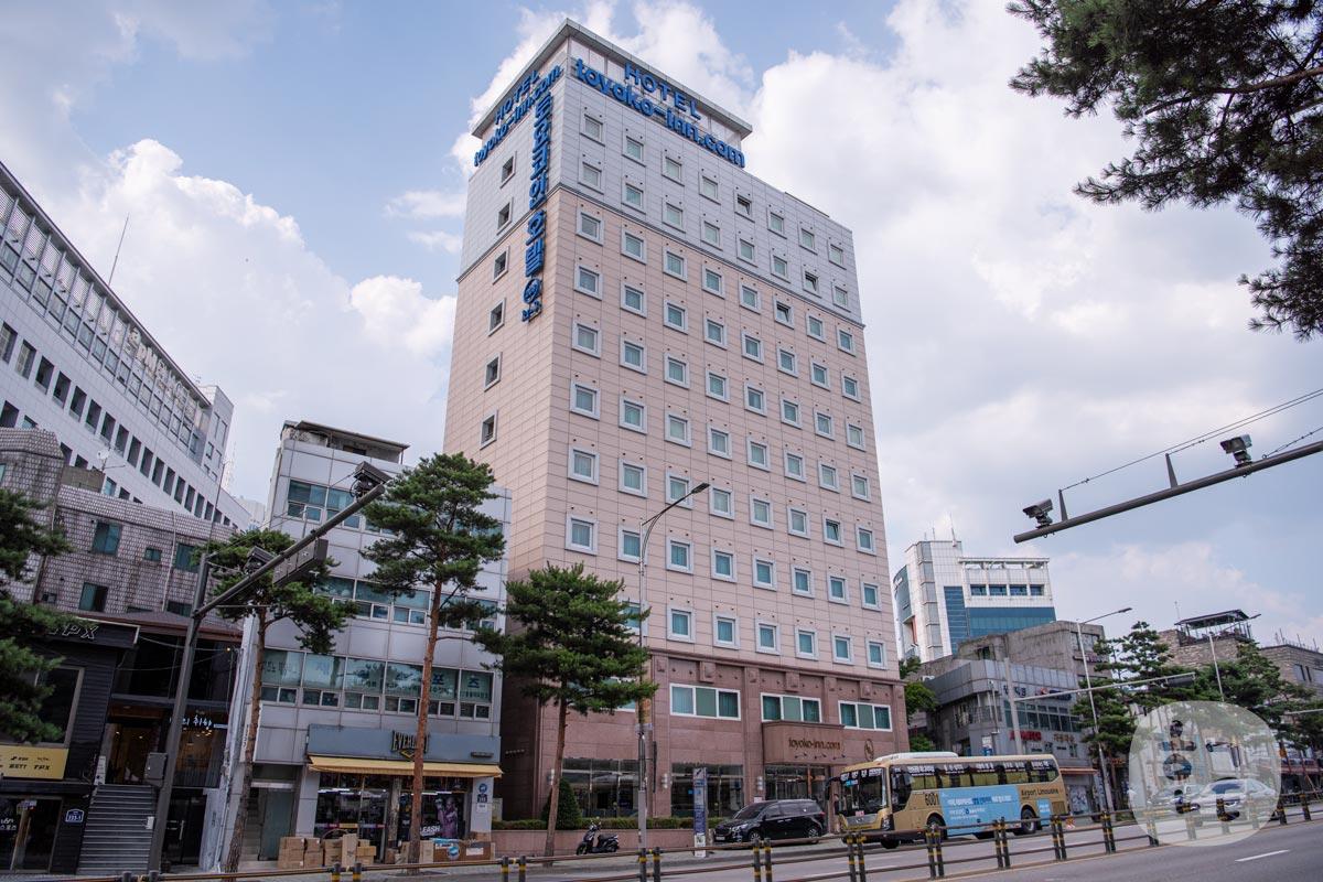 東横インソウル東大門1に泊まってみた!日本語可能の日本のホテル!