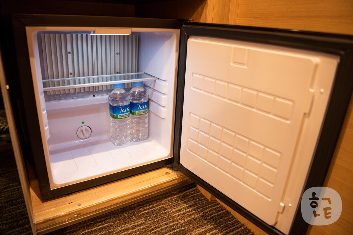 スカイパークホテルの冷蔵庫