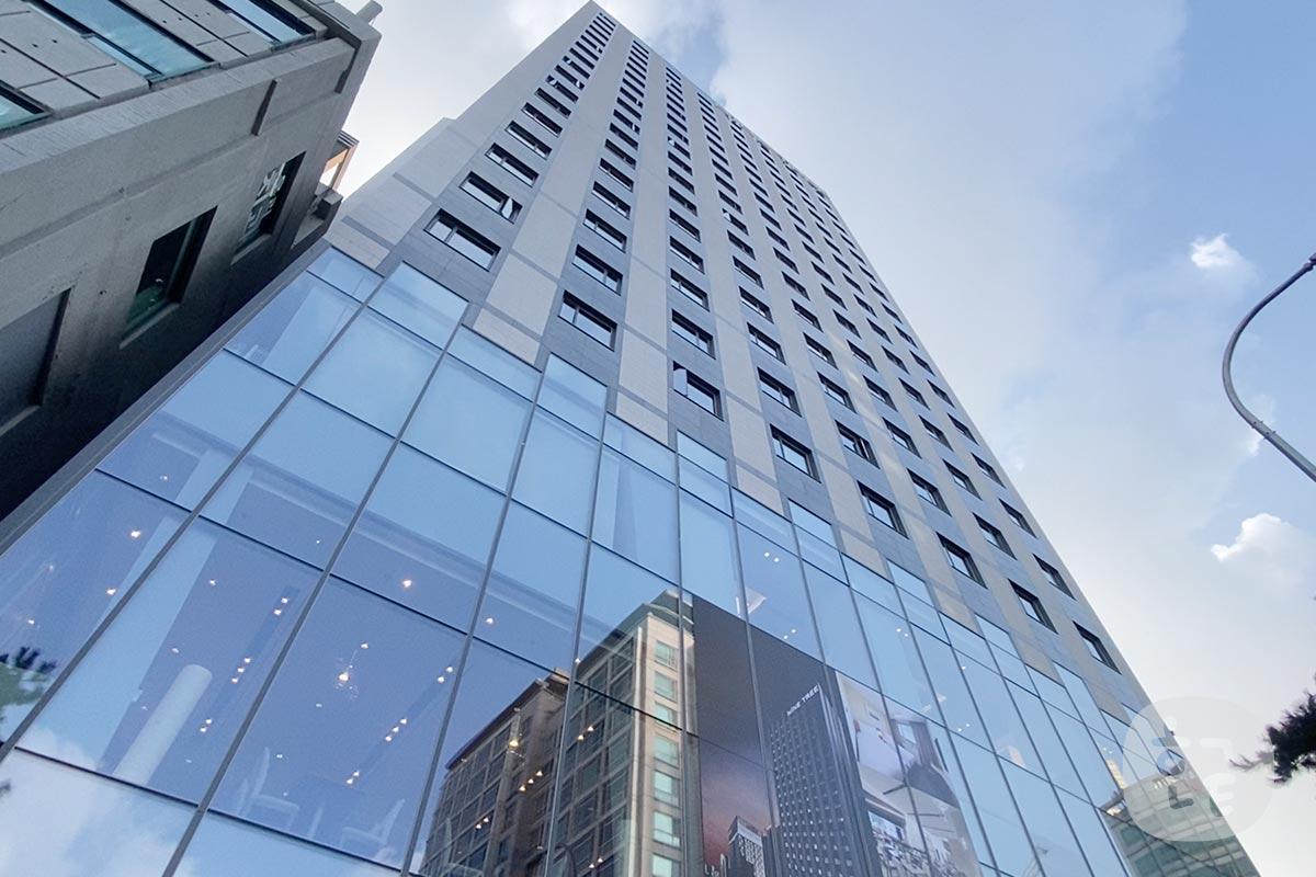 ナインツリーホテル東大門の外観001