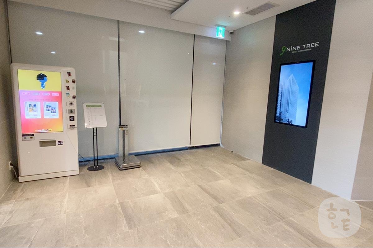 ナインツリーホテル東大門のエレベーターホール